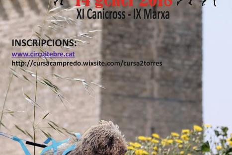 """XI Canicross """"Les II Torres"""" – Campredó"""