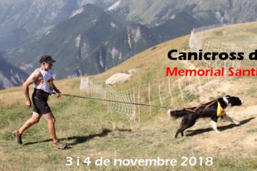 VI Canicross Internacional Alt Berguedà Cercs – Memorial Santiago Mesa